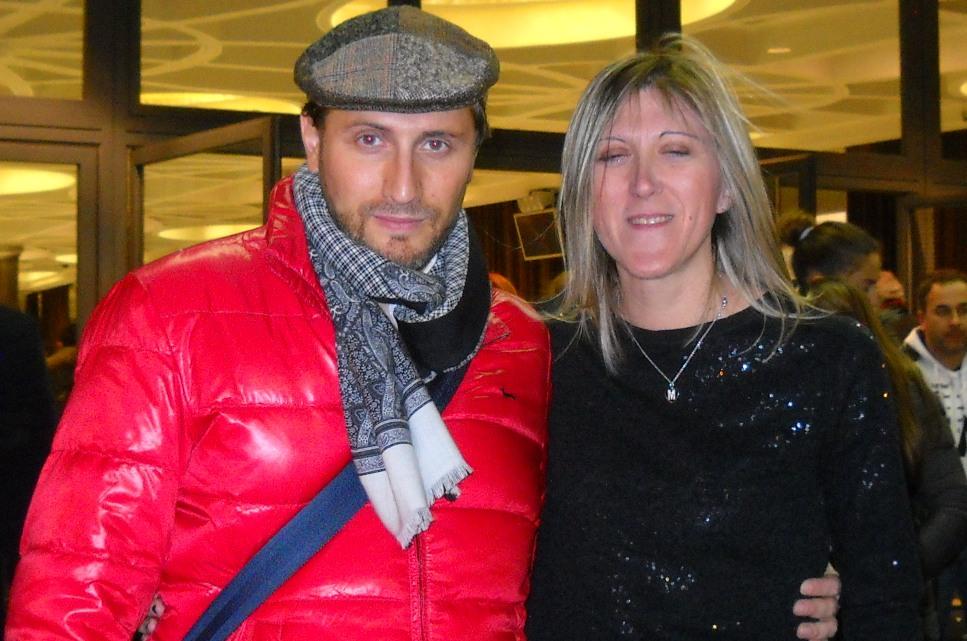 Con il baritono bareggese Mauro Bonfanti in occasione del concerto con Andrea Bocelli - Roma 2 dicembre 2013